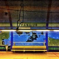 Photo taken at Metro Parque [AZ] by Fredrik S. on 10/28/2012