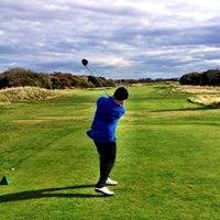 Photo taken at Royal Lytham & St. Annes Golf Club by Fredrik S. on 10/7/2013