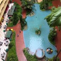 Photo taken at Sheraton Abuja Hotel by Özlem Y. on 8/2/2015