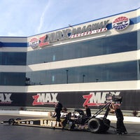 Photo taken at zMax Dragway by Lenore B. on 9/27/2013