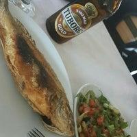 Photo taken at Hamza Balık Restaurant by nesibe t. on 6/5/2016