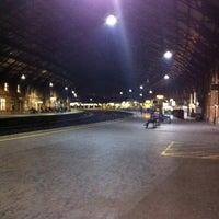 Photo taken at Platform 1 by Jon C. on 12/12/2012