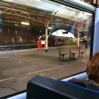 Photo taken at Platform 1 by Jon C. on 2/13/2013