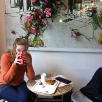 Photo taken at Barista Coffee & Cake by Claire V. on 2/6/2013