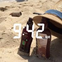 Photo taken at Nuwaiseeb beach by Noura on 7/28/2015