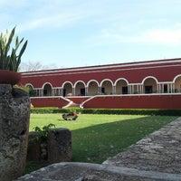 Photo taken at Hacienda Temozon by Antoine J. on 4/7/2013
