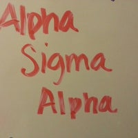 Photo taken at Alpha Sigma Alpha by Peter Z. on 9/19/2013