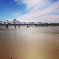 Photo taken at The Mighty Mississippi River by Amy K. on 4/7/2013