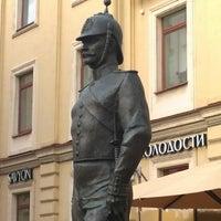 Photo taken at Памятник Городовому by Александр Б. on 10/8/2014