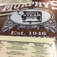 Photo taken at Murphy's Steakhouse by Jack H. on 12/11/2017