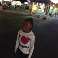 Photo taken at Augusta Fair Grounds by Dex M. on 10/24/2014