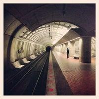 Photo taken at Fort Totten Metro Station by Elliott P. on 2/7/2013