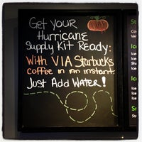 Photo taken at Starbucks by Elliott P. on 10/28/2012