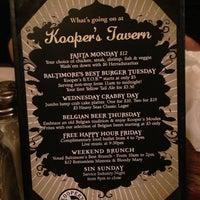 Photo taken at Kooper's Tavern by Elliott P. on 11/11/2012