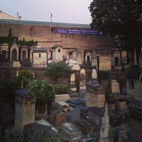 Photo taken at Montmartre Cemetery by Philipp S. on 7/10/2013