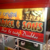 Photo taken at Sauce Doubles Vendor by Brent W. on 1/4/2013