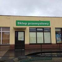 Photo taken at Sklep przemyslowy vel chemiczny by Jacek R. on 5/3/2013