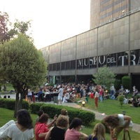 Photo taken at Museo del Traje by Alvaro J. on 7/24/2013