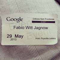 Photo taken at Googleplex - 900 by Fabio W. on 5/29/2013