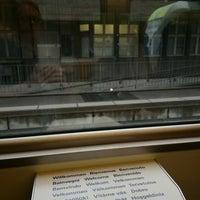 Photo taken at Bahnhof Langnau i.E. by Frank-Michael P. on 7/28/2017