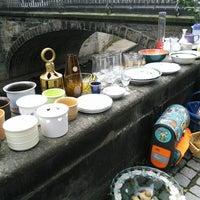 Das Foto wurde bei Flohmarkt Am Hohen Ufer von Frank-Michael P. am 8/30/2014 aufgenommen
