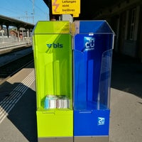 Photo taken at Bahnhof Langnau i.E. by Frank-Michael P. on 7/30/2017