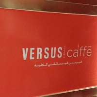 Photo taken at VERSUS Caffe by ALI A. on 10/1/2014