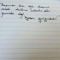 Photo taken at Fatih Sultan Mehmet Erkek Öğrenci Yurdu by Emre Y. on 2/21/2017