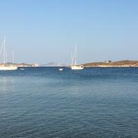 Photo taken at Agriolivadi beach by Spyros K. on 8/19/2017