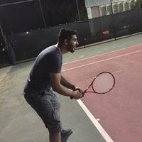 Photo taken at Tenis Kortu by Mehmet Fatih K. on 8/26/2015