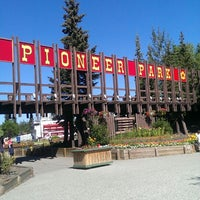 Photo taken at Pioneer Park by Morgan S. on 7/13/2013