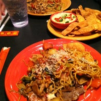 Photo taken at HuHot Mongolian Grill by Ruthie T. on 4/23/2013
