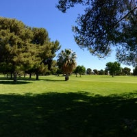 Photo taken at Boulder City Municipal Golf Course by Paul K. on 5/14/2014