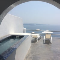 Photo taken at Oia Suites by Anna S. on 8/25/2016