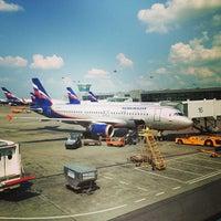 Photo taken at Terminal D by Vladislav V. on 6/28/2013