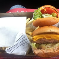 Photo taken at In-N-Out Burger by Andrew Z. on 12/1/2012