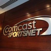 Photo taken at Comcast SportsNet by Celeste Z. on 4/16/2013