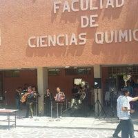 Photo taken at Facultad De Ciencias Quimicas by Hal G. on 9/15/2015