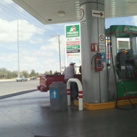 Photo taken at Gasolinera Del Avion by Hal G. on 10/13/2012
