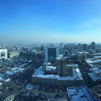 Photo taken at Ulaanbaatar by Roman💙💛 on 11/28/2017