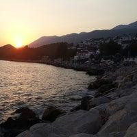 Photo taken at Kaşta Gün Batımı by Emre Y. on 8/20/2014