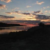 Photo taken at Набережная Финского залива by Julia D. on 5/27/2013