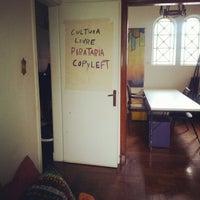 Photo taken at Casa da Cultura Digital by Daniela B. on 1/11/2013