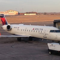 Photo taken at Duluth International Airport (DLH) by Brook S. on 11/20/2012