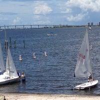 Photo taken at Jensen Beach, FL by Cecilia H. on 8/2/2014