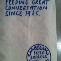 Photo taken at PizzaExpress by stacy f. on 9/14/2012