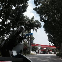 Photo taken at Caltex by Husny. on 6/20/2015