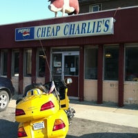 Photo taken at Cheap Charlie's by Jane H. on 7/5/2013