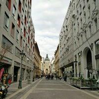Photo taken at Zrínyi utca by Dmytro F. on 3/27/2016