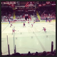 Photo taken at Lynah Rink by Brenna O. on 2/23/2013